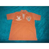 Camisa Casual Tipo Chemise Marca Tango Talla S