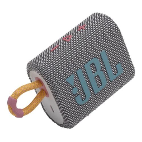 Alto-falante JBL Go 3 portátil com bluetooth grey