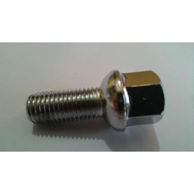Parafusos De Roda M12 1,5 Em Aço Cromado P/ Gol Esféricos