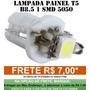 Lampada Led T5 B8.5 Para Painel Frete R$ 7,00 Varias Cores