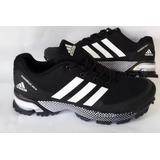 Tenis Zapatillas adidas Marathon 2018 Hombre Colores