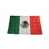 Bandera De México 1.5mtsx 90cm Seleccion Mexicana D-015