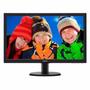 Monitor Tv Philips Led 21,5 Hdmi Full Hd Black 223v5lhsb2