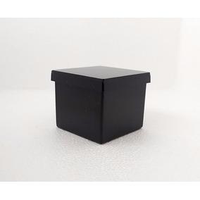175 Caixinha De Acrílico 5x5x4,3 Preta - Mini Caixa Surpresa