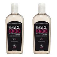 2 Shampoo Crecimiento Anti Caida Reparador Frizz Mujer 7en1