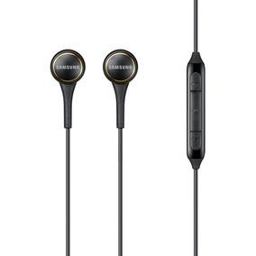 Fone De Ouvido Intra Aur. C/ Microfone Samsung Ig935 Preto
