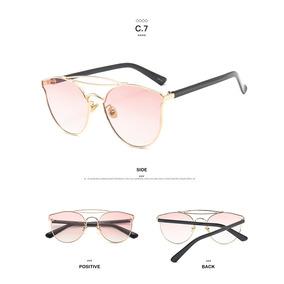 0f01f696cc416 Oculos De Sol Espelhado Rosa Gatinho Vintage - Óculos em Rio Grande ...