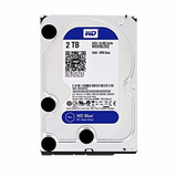 Disco Duro Wd 2tb Blue 64mb 3.5in 5400rpm Wd20ezrz