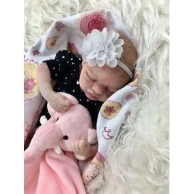Cris Couto Bonecas Reborn-bebê Geovana Pronta Entrega !!!