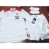 Camiseta Y Short Peru Medias Umbro