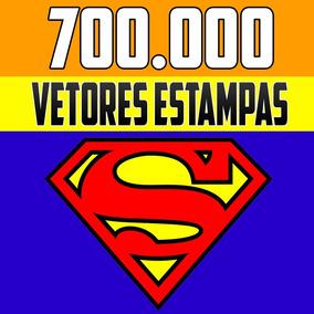 Vetores Super Herois + 700.000 Vetores Estampas Corel