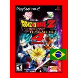 Dragon Ball Z Budokai Tenkaichi 4 Versão Brasileira Ps2