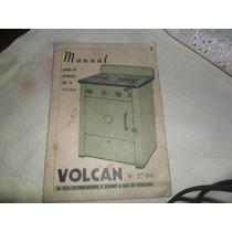 Manual Cocina Volcan