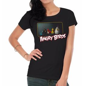 Remera Mujer Angry Birds Inkpronta
