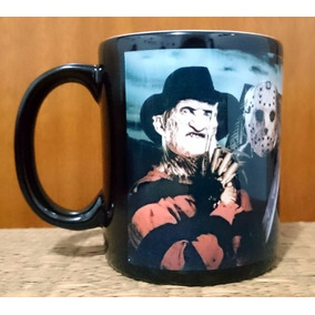 Caneca Freddy Krueger Jason Michael Myers Pinhead Terror