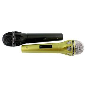 Micrófonos Alambricos Duo Karaoke Plug 6.3 Mm - Te490
