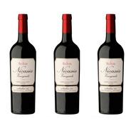 Pack 3 Vinos Nicasia Vineyards Red Blend Malbec X750cc