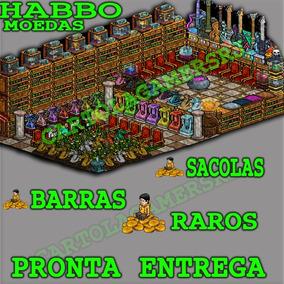 Habbo Hotel Moedas - 50c Barra - Habbo Br - Leia A Descrição