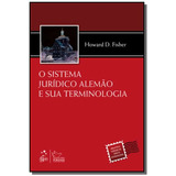 Sistema Juridico Alemao E Sua Terminologia, O