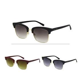 Oculos De Sol Escuro Atitude - Óculos De Sol Sem lente polarizada no ... a12245a9d6