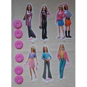 Barbie Set De Accesorios De Cumpleaños