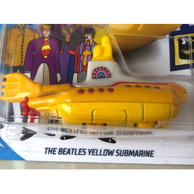 Hot Wheels The Beatles Yellow Submarine Submarino