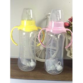 Mamadeira Com Alça Copo De Treinamento Bebê 240 Ml