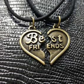 Colar Da Amizade Coração Melhores Amigas Best Friends
