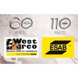 Electrodos West Arco / Esab 6010 1/8 Y 5/32. Precio Real