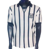 Camisa Retrô Santos 1963 Blusa Santista Camiseta Peixe Retro