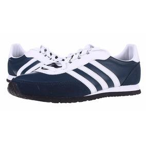 Zapatos adidas Potosino 100% De Cuero Modelo Retro.