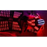 Traje Led Tcr Pixel, Laser Y Zancos Incluido Con Descuento!!