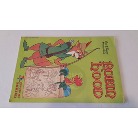 Album Figuritas Walt Disney Panini Robin Hood Completo