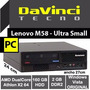 Pc Lenovo Athlon X2 64 2gb Disco 160gb Dvd M58 Ultra Chica