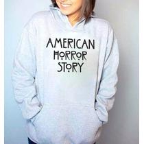 Blusa Dasérie American Horror Story Moletom Canguru Casaco!!