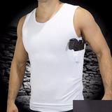 Camiseta Coldre Regata - Com Porta Carregador.