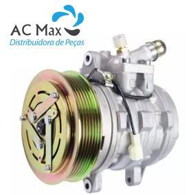 Compressor 10p08 Vw Gol G2 G3 G4 Motor 1.0 Polia 6pk Novo