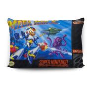Funda De Almohada Mega Man X 70x45cm Vudú Love