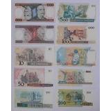 P-000 Lote 10 Cédulas Notas Dinheiro Antigo Fe - Promoção