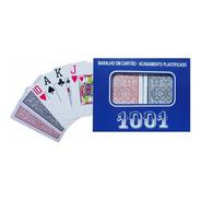 Jogo Baralho Copag 1001 Duplo Plástico 110 Cartas Oferta.