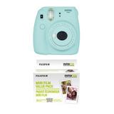 Fujifilm Instax Mini 9 Ice Blue Camara Instantánea + 60 Film