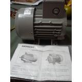 Motor Electrico Trifasico Nuevo Siemens 0.5hp