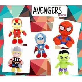 Peluche Importado Avengers (hulk, Ironman, Cap. America)