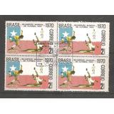Selos Brasil Bi Campeão Copa Do Mundo 1970