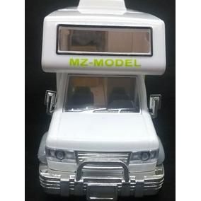 Motorhome Ford Com Montagem Móveis Internos Luzes 1/32