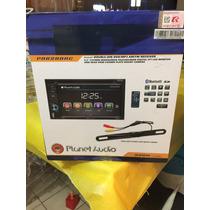 Stereo Pantalla Planet Audio Touch Con Camara De Reversa Bt