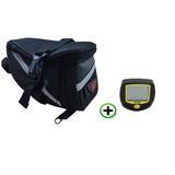 Bolsa Para Bancos Celin + Velocimetro P/ Bicicleta E Moto
