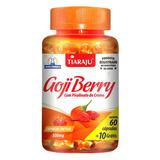 Goji Berry Com Picolinato De Cromo - 60 Cápsulas - Tiaraju