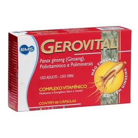 Gerovital C/ 60 Cápsulas