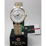 Reloj Pulsera Election Quartz - Suizo - Garantia. (re127)